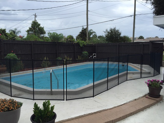 Deltona Pool Safety Fence Baby Barrier Of Volusia County