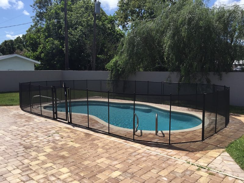 Holly Hill Swimming Pool Fence Baby Barrier Of Volusia County