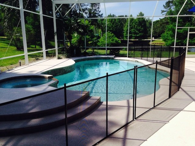 Baby Barrier Volusia Pool Fence Installs