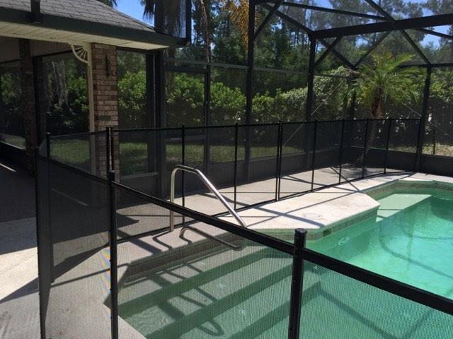 Pool Fence In Orange City