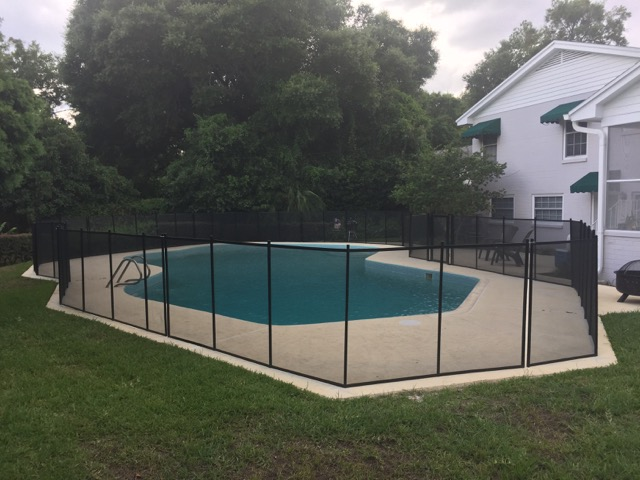 Pool Fence In Deland