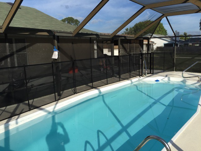 South Daytona FL Pool Fence