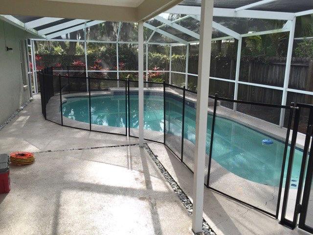 Edgewater Pool Fence FL Volusia