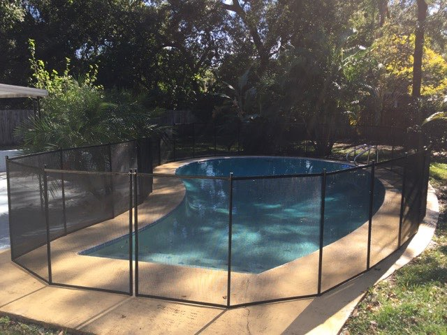 Pool Fences In Deland Fl Baby Barrier Of Volusia County