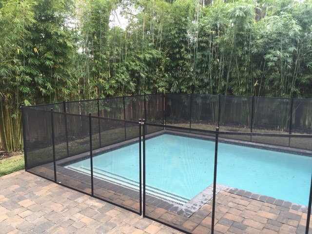Oak Hill FL Pool Fence