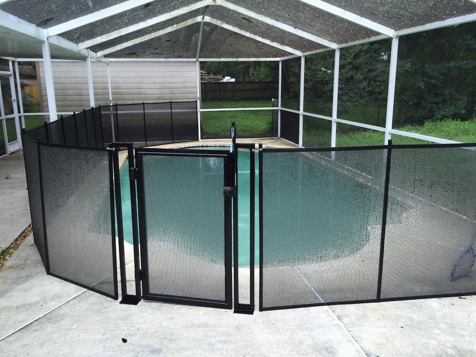 Daytona Beach Swimming Pool Fence