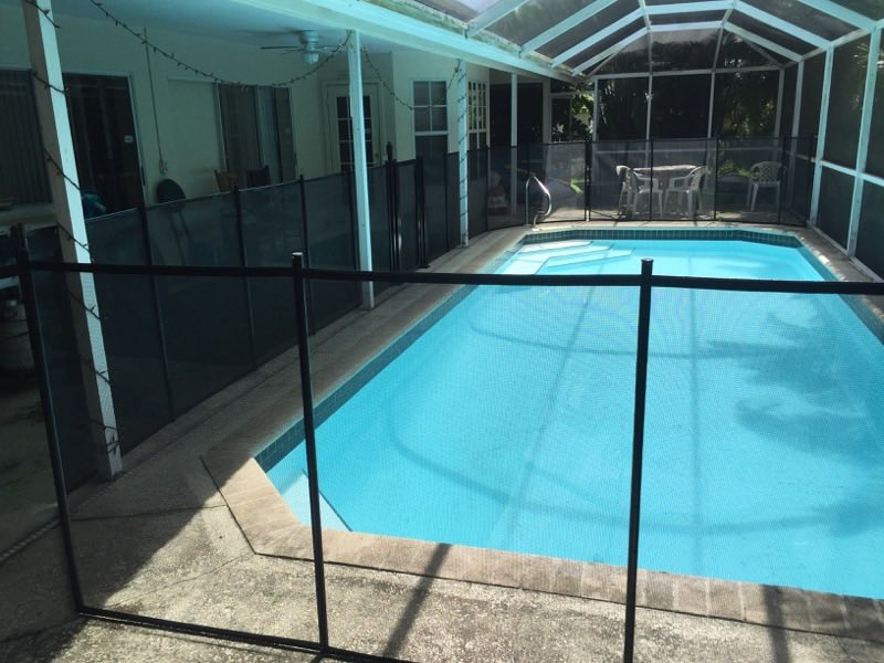 Surrounded Swimming Pool Baby Barrier Of Volusia County