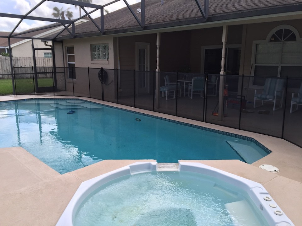 Volusia Debary Pool Safety Fence
