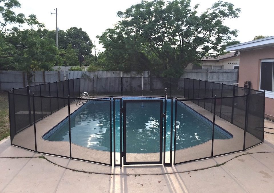 Debary Florida Pool Fence