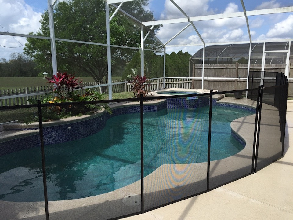 Premium Pool Fence Oak Hill
