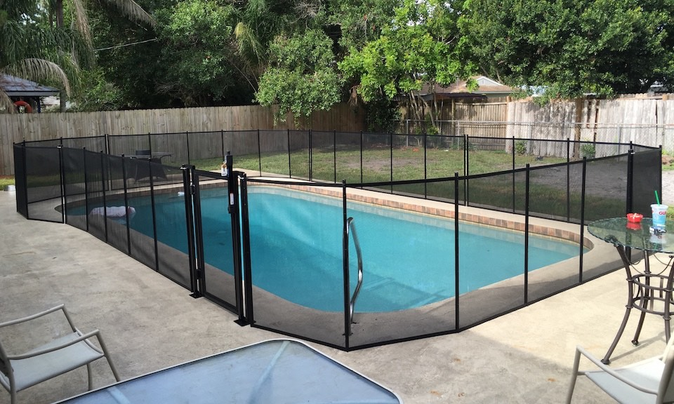 Pool Fences Deltona Fl Baby Barrier Of Volusia County