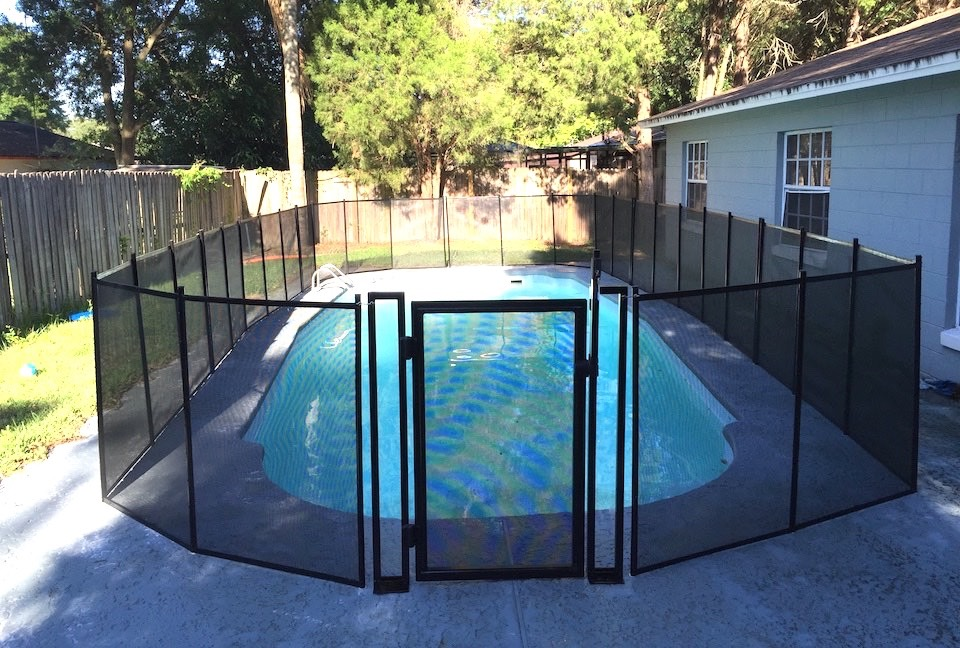Pool Fence Gate Daytona