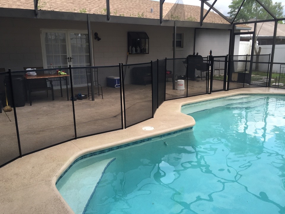 New Smyrna Pool Fence